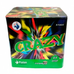 BATERIA CRAZY 25 DISPAROS