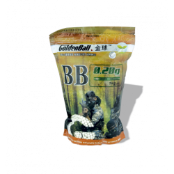 BOLAS GOLDE BALL BIO DEGRADABLE 0.20G