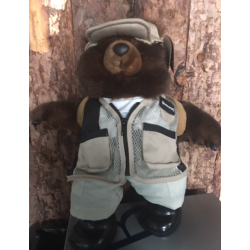 PELUCHE OSITO CAZADOR BROWNING